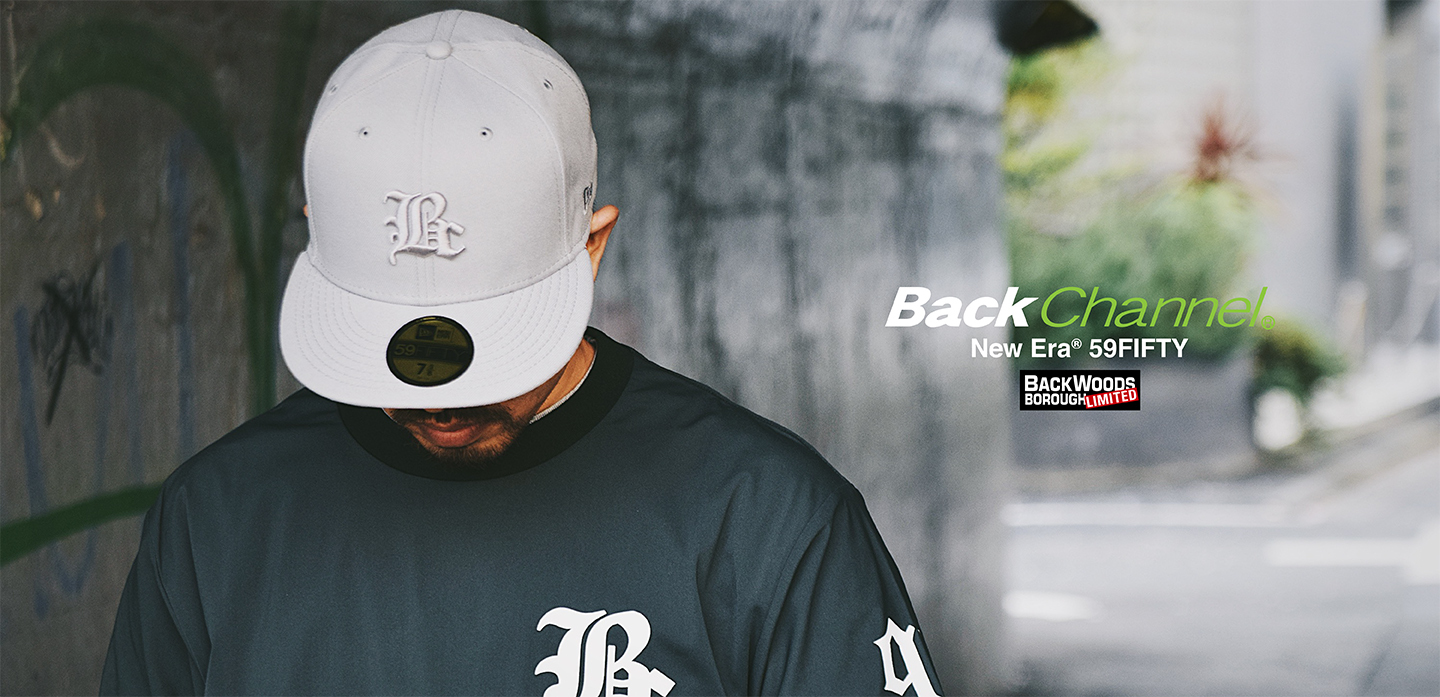 Back Channel×New Era 59FIFTY(BWB LIMITED)