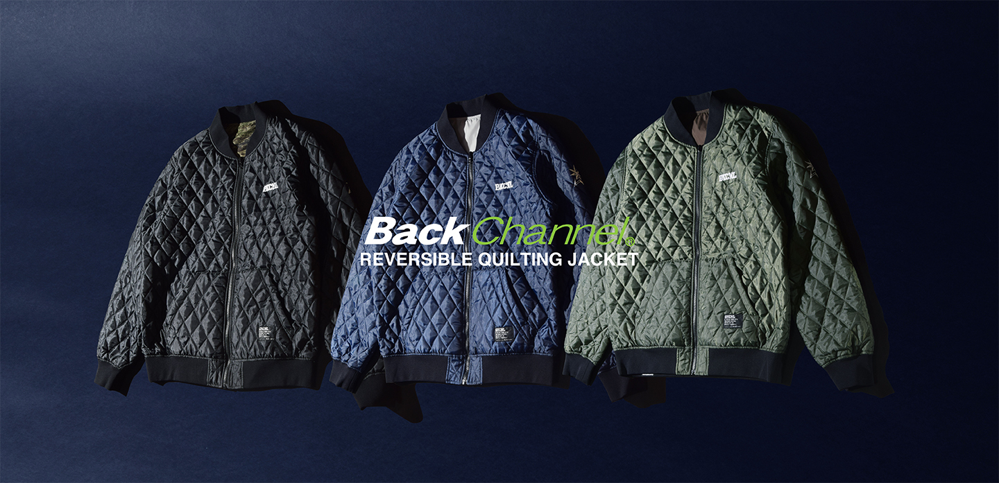 REVERSIBLE QUILTING JACKET